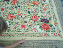 shawls scarves embroidery china textile textiles
