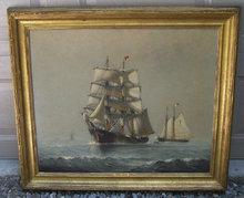 paintings maritime marine seascape seascapes