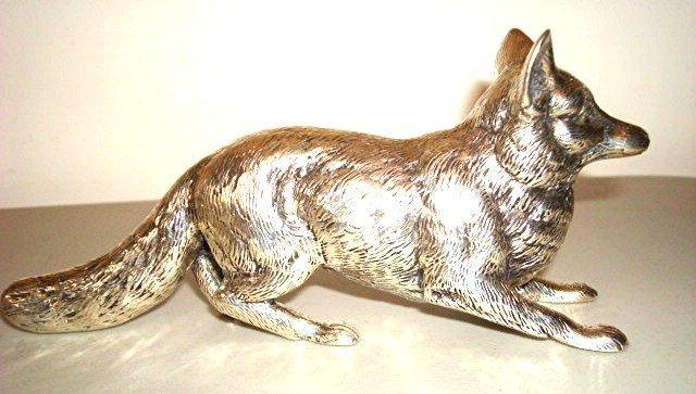 CONTINENTAL SILVER FOX/RARE/GERMANY 6 IN. LONG