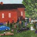 HELEN LAFRANCE FOLK ART MEMORIES/NEW BOOK SELF-TAUGHT ARTIST MEMORY PAINTER 220+ PHOTOS