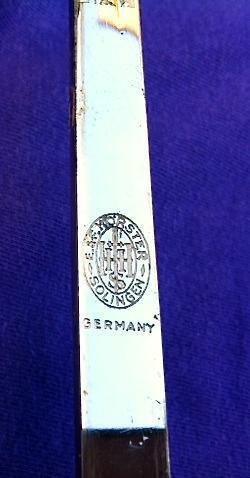 IVORY EROTIC SWORD CANE c. 1800s-1900 SOLINGEN STEEL BLADE
