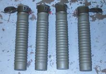 Switzerland WW2 Military Shell Canisters