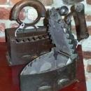 Cast Iron Clothes Iron 1940s