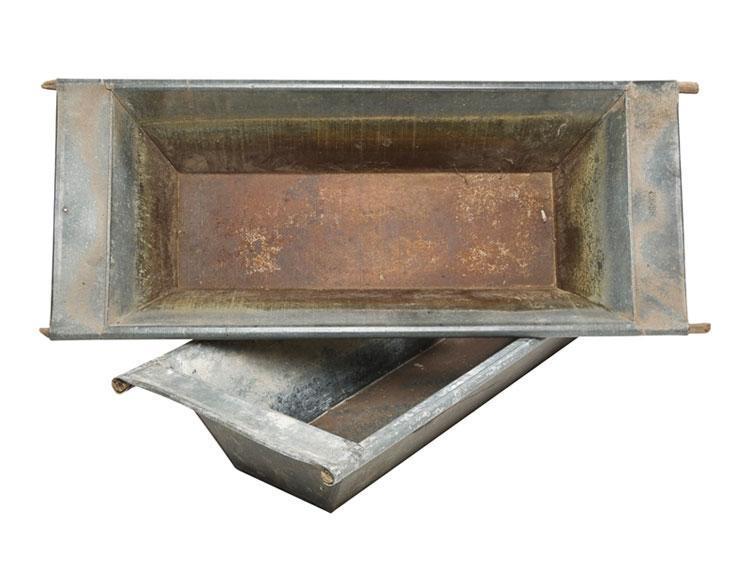 Galvanized Steel Dough Bowl