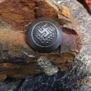 Vintage WWII German Nazi Women's Agricultural Medal Tinnie - circa 1940