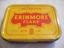 MURRAY'S ERINMORE FLAKE Tobacco Tin