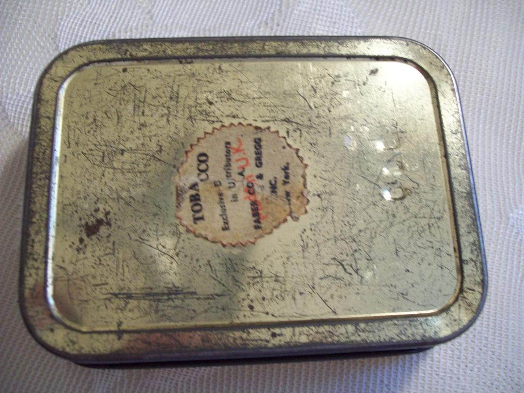 MURRAY'S ERINMORE FLAKE Tobacco Tin