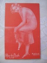 Risque Lady IMR co. Trade Card -