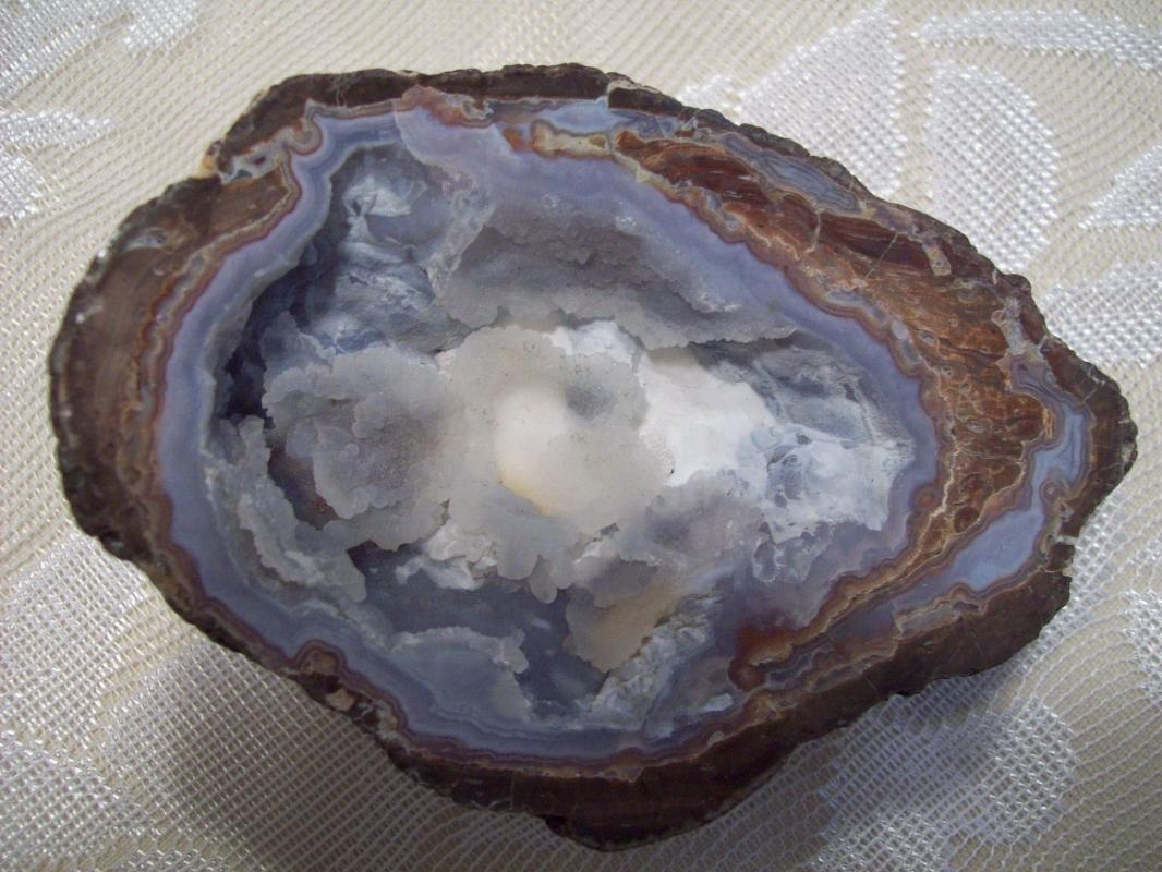 Geode Half - Banded Agate