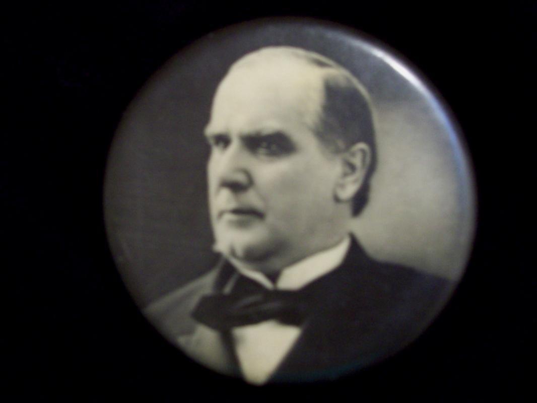 McKinley Presidential Campaign Pocket Mirror