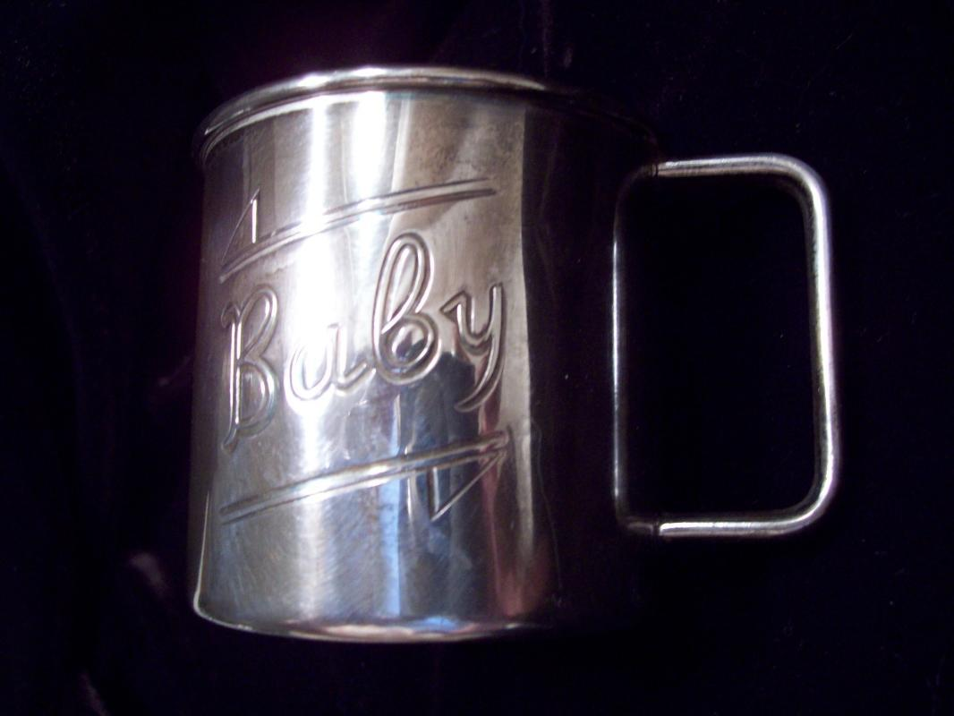 Baby Cup - 1881 ROGERS EPNS