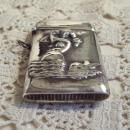 Mermaid 925 Sterling Match Safe - Matchsafe