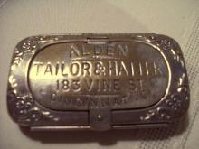 ALDEN TAILOR & HATTER Stamp & Match Safe - Matchsafe