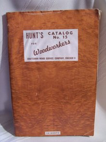 Hunt's Catalog # 15 for Woodworkers