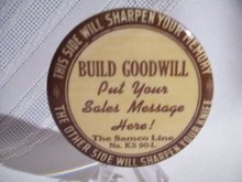 BUILD GOODWILL Sharpening Stone