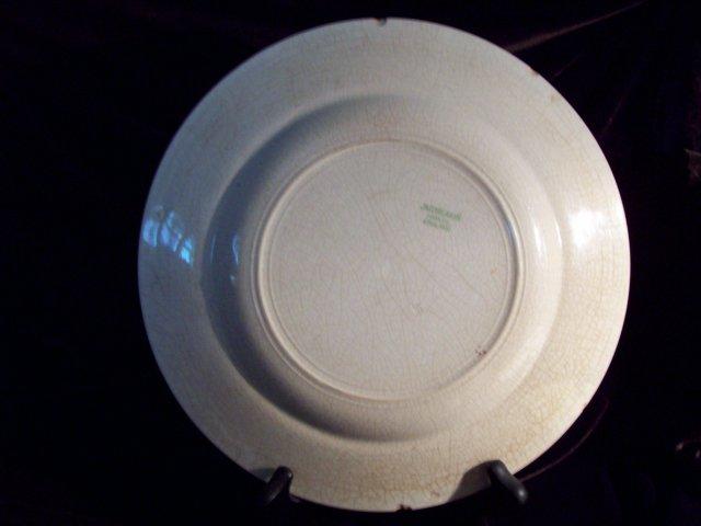J&G MEAKIN Transferware Plate