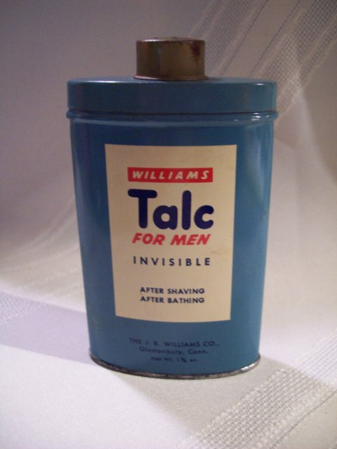 Williams Talc for Men TIN