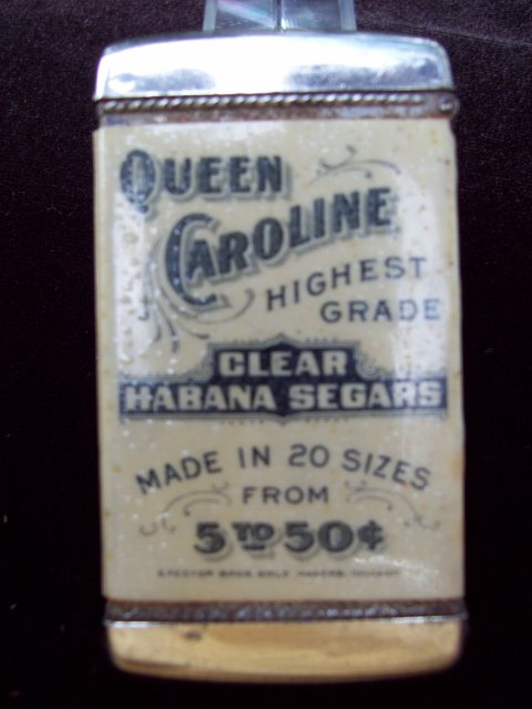 Queen Caroline Advertising Matchsafe - Match Safe