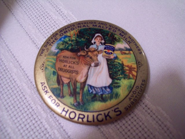 HORLICK'S  Pocket  Mirror