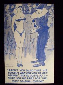 MUTOSCOPE CARTOON CARD