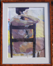 Elsie D. Bopkin Original Pastel Drawing