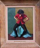 Gladys Rockmore Davis, Oil on Canvas Painting