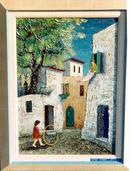 Zvi Livni, Safed Street, Israeli Painting