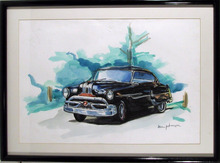 Steven Johnson, Watercolor Painting