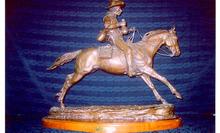 Jack Bryant, Bronze Sculpture, Cowboy
