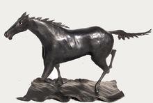 Bernhard Herr Steel Horse Sculpture