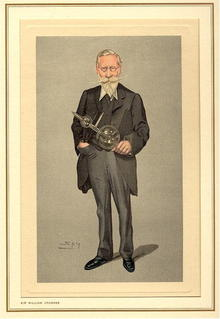 19th Century Spy Caricature Sir William Crookes