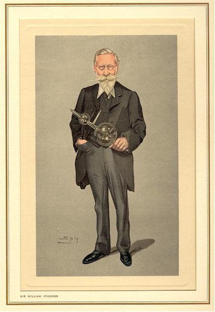 19th Century Spy Caricature Sir William Crookes