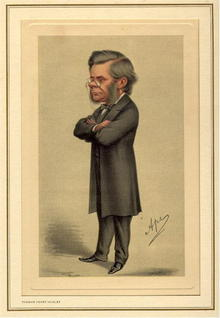 19th Century Spy Caricature,Thomas Henry Huxley