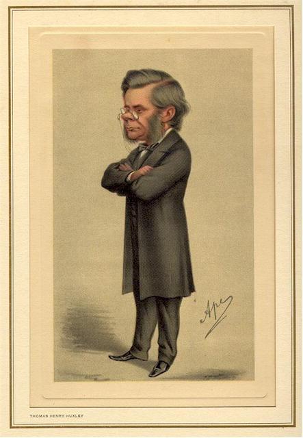 19th Century Spy Caricature,Thomas Henry Huxley