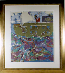 Romare Bearden Noah's Ark, Screenprint