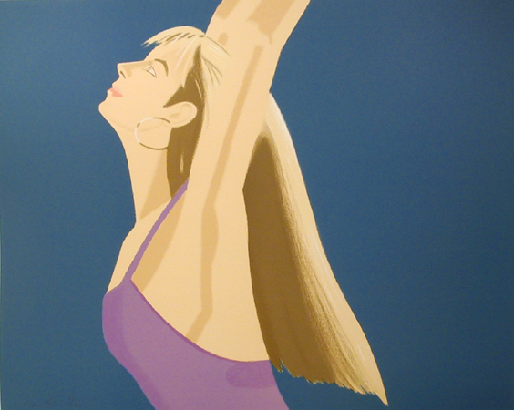 Alex Katz,  Dance Portfolio of 4 Lithographs