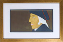 Alex Katz, George Washington, Framed Print