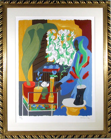 Jacob Lawrence, Supermarket-Flora, Silkscreen