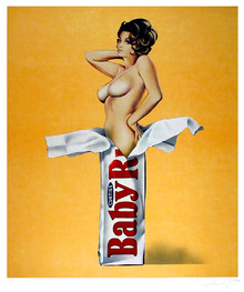 Mel Ramos Candy Signed Lithograph
