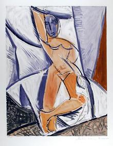 Pablo Picasso, Lithograph, Etude pour le nu
