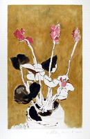Pablo Picasso, Lithograph, Les Cyclamens