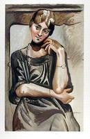 Pablo Picasso, Lithograph, Olga Picasso