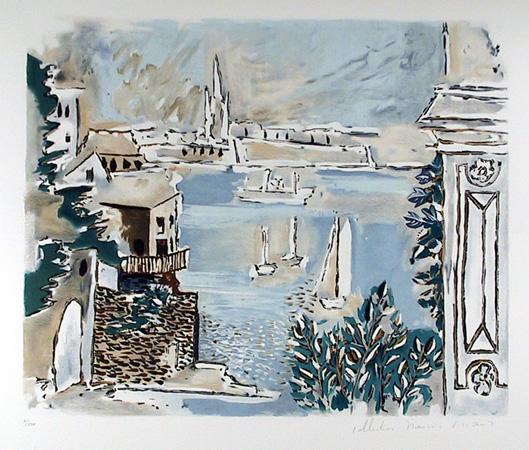 Pablo Picasso Lithograph, Passage De Dinard