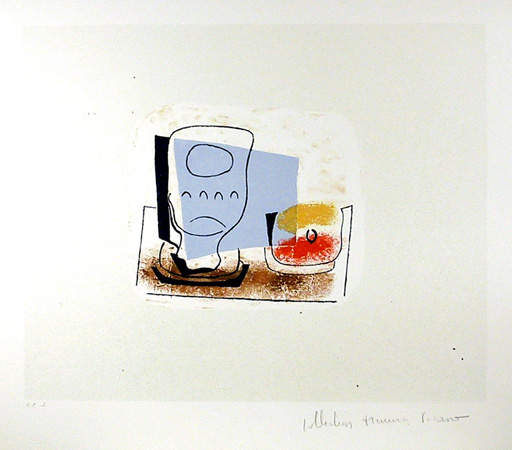 Pablo Picasso Lithograph, Nature Morte