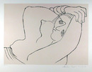 Pablo Picasso Lithograph, Femme Couchee