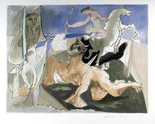 Pablo Picasso Lithograph, Composition