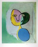 Pablo Picasso Lithograph, Figure