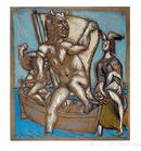 Pablo Picasso Lithograph, Femme et Minotaure