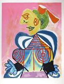Pablo Picasso Lithograph, L'Alesienne