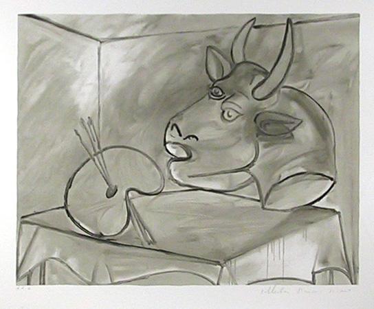 Pablo Picasso Lithograph, Nature Morte Palette